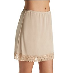 Jones New York Silky Spandex 16 Inch Half Slip with Lace 720216