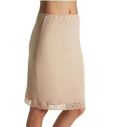 Jones New York Silky Spandex 23 Inch Slip with Lace 720223