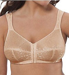 Just My Size Front Close Wirefree Bra 1107