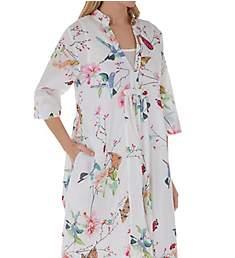 La Cera Spring Blooms Cotton Short Dress 2055