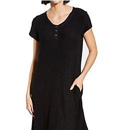 La Cera Comfort Short Gown 2555