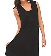 La Leche League Layered V-Neck Sleeveless Nursing Chemise 4370