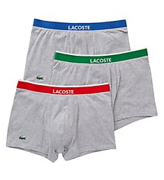 Lacoste Colours Cotton Stretch Trunks - 3 Pack RAM8314