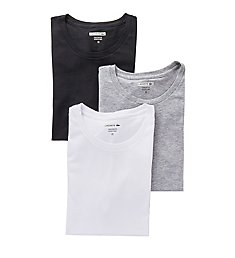 Lacoste Essentials 100% Cotton Crew T-Shirts - 3 Pack RAM8701