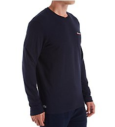 Lacoste Core Authentic Signature Long Sleeve Crew RAML318