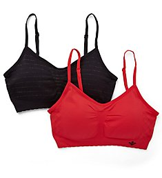Lily Of France Dynamic Duo Seamless Bralette - 2 Pack 2171941
