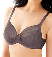 Lilyette Enchantment 3 Section Mesh Minimizer Bra 0434