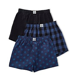 Lucky Woven Boxers - 3 Pack 00CPB09