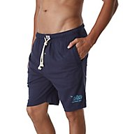 Lucky Sueded Knit Drawstring Fly Front Lounge Short 161LJ04