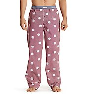 Lucky Jacquard Clover Print Woven Lounge Pant 161LP01