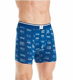 Lucky License Plate Stretch Boxer Brief 171UH04