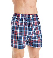 Lucky Americana Plaid Woven Boxer 171UH09