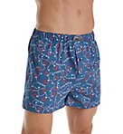 Lucky Holiday Print Woven Boxer 173UH08