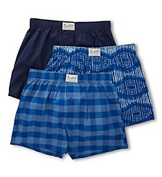 Lucky Assorted Woven Boxers - 3 Pack 181PB09