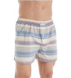 Lucky Beach Bum Striped Woven Boxer 181WH09