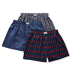 Lucky Woven Boxers - 3 Pack 191PB09