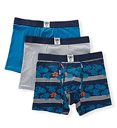 Lucky Cotton Stretch Boxer Briefs - 3 Pack 191VB07