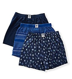 Lucky Woven Boxers - 3 Pack 191VB09