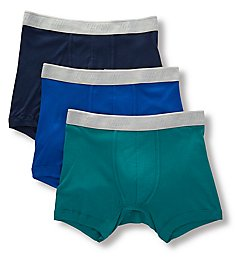 Lucky Cotton Modal Boxer Briefs - 3 Pack 201PB02