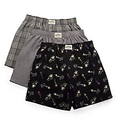Lucky Core Woven Boxers - 3 Pack 211PB09