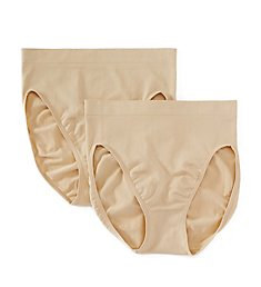 Maidenform Everyday Value Seamless Hi Cut Panties - 2 Pack 12586