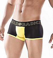 Malebasics Neon Pouch Color Block Short Trunk MBN01
