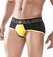 Malebasics Neon Pouch Color Block Brief MBN03