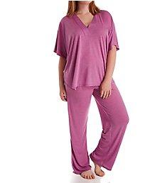 N by Natori Congo Kimono Sleeve Pajama Set AC6205