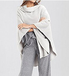 N by Natori Cashmere Fleece Poncho XC4015