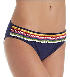 Nanette Lepore Peace and Love Charmer Brief Swim Bottom NL8CB93