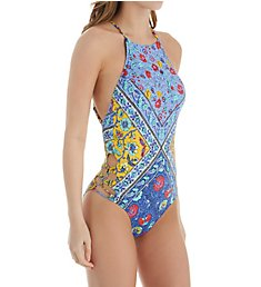 Nanette Lepore Woodstock Seductress One Piece Swimsuit NL8CE12