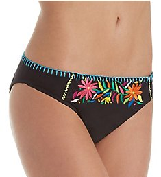 Nanette Lepore Isla Marietas Charmer Brief Swim Bottom NL8CF93