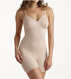 Naomi & Nicole Shapes Your Curves Low Back Bodysuit w/ Back Magic 7340
