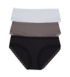 Natori Bliss Girl Brief Panties - 3 Pack 156058P