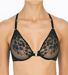 Natori Cherry Blossom Front Close Unlined Underwire Bra 728191