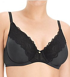 Natori Satin Fleur Full Figure Unlined Underwire Bra 734115