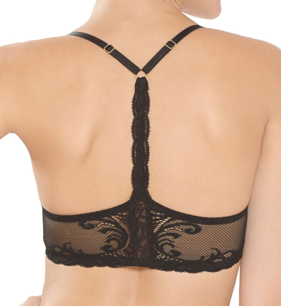 Natori Feathers Front Close T-Back Bra 735023