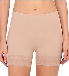 Natori Bliss Perfection Boyshort with Lace Trim Panty 785154