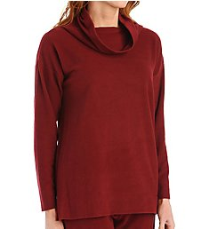 Natori Brushed Knit Long Sleeve Top Z75133