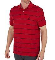 Nautica Performance Wicking Striped Polo Shirt K42051