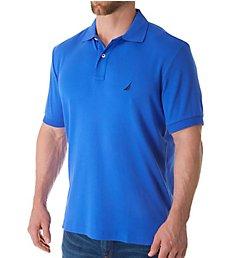 Nautica Anchor Fashion Solid Deck Polo Shirt K61700