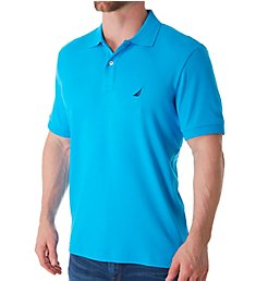 Nautica Anchor Fashion Solid Deck Polo Shirt K61700