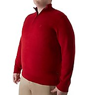 Nautica Big Man Pima Cotton 1/4 Zip Sweater N63604