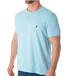 Nautica Solid Crew Neck Short Sleeve T-Shirt V61704