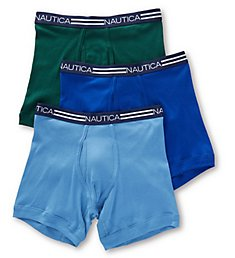 Nautica Cotton Boxer Briefs - 3 Pack X60304