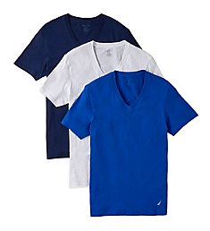 Nautica Cotton V-Neck T-Shirt - 3 Pack X60310