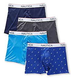 Nautica Stretch Boxer Briefs - 4 Pack X69404