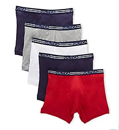 Nautica Cotton Boxer Briefs - 5 Pack X72804
