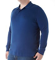 Nautica Big Man Knit Long Sleeve Polo Z63700