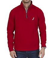 Nautica Big Man Long Sleeve 1/4 Zip Knit Sweatshirt Z73172